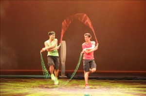 Mexican rope skipping