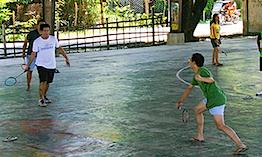 netless badminton