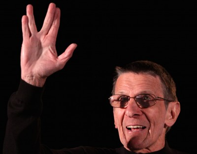 A blessing from Spock