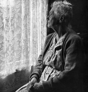 Elderly Woman by Chalmers Butterfield